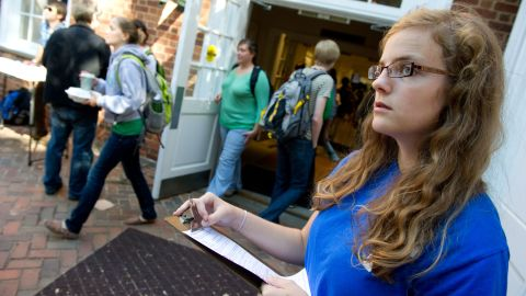 Students at the University of Virginia were outraged by the dismissal of Teresa Sullivan.
