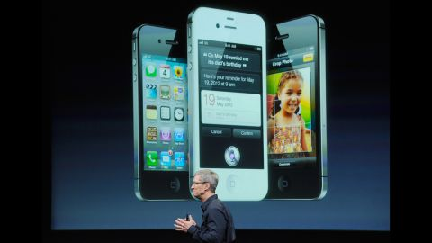 The iPhone 4s, released on October 14, 2011 expanded on the iPhone's innovations with the addition of groundbreaking retina diplay technology and SIRI.