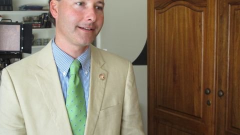 """State Rep. Sam Mims says his goal is to protect women, but if the law means fewer abortions, """"then that's a good thing."""""""