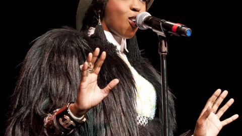 Lauryn Hill performs in November 2011.