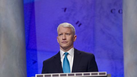 """CNN's Anderson Cooper <a href=""""http://andrewsullivan.thedailybeast.com/2012/07/anderson-cooper-the-fact-is-im-gay.html"""" target=""""_blank"""" target=""""_blank"""">came out publicly </a>as gay in an e-mail message to the Daily Beast's Andrew Sullivan, which was posted to the site in July 2012."""