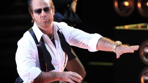 """Cruise's Les Grossman was such a hit in 2008's """"Tropic Thunder,"""" he got back into character for the 2010 MTV Movie Awards."""