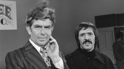 """In 1972, Griffith appeared on """"The Sonny and Cher Comedy Hour"""" with Sonny Bono."""