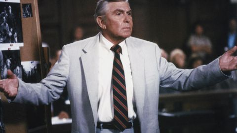 """Griffith also starred in the television legal drama """"Matlock"""" from 1986 through 1992 on NBC and from 1992 until 1995 on ABC."""