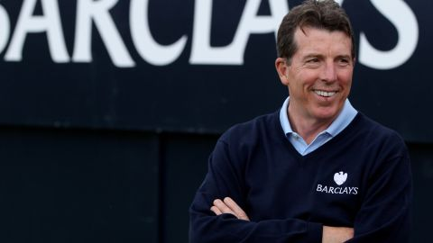 INVERNESS, SCOTLAND - JULY 10: President of Barclays Bob Diamond looks on during the final round of The Barclays Scottish Open at Castle Stuart Golf Links on July 10, 2011 in Inverness, Scotland. (Photo by Richard Heathcote/Getty Images)