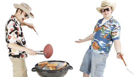Men may be the master grillers at home but women like to spice it up.
