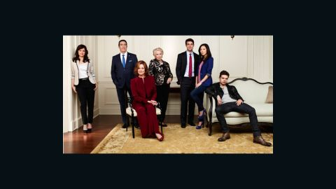 """Sigourney Weaver  leads the cast in the USA Network mini-series """"Political Animals."""""""
