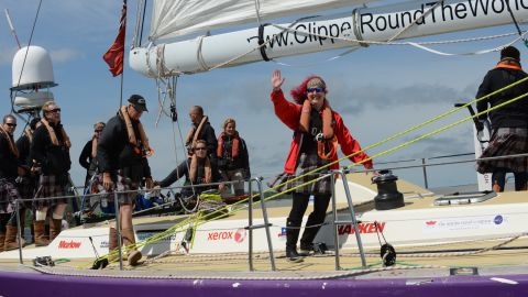 She recently made history by becoming the first double lung transplant survivor ever to have raced across an ocean.