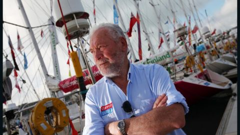 """The """"Clipper Round the World Race"""" is the brainchild of Robin Knox-Johnston - the first man to sail single-handedly around the world. His aim is to give everyone, regardless of sailing experience, the opportunity of ocean racing."""