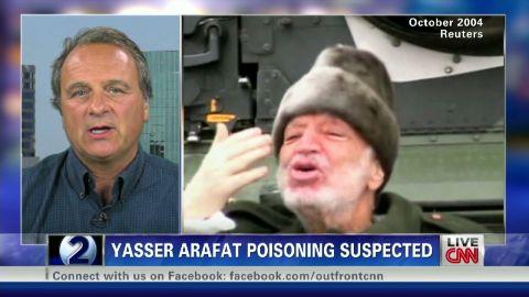 exp EB Yasser Arafat body exhumed_00014326