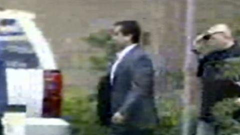 George Zimmerman leaving jail in Florida