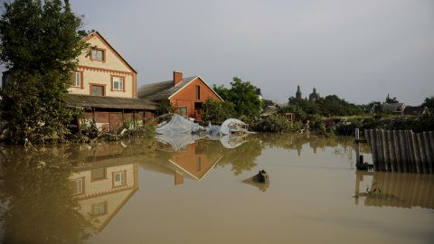 President Vladimir Putin declared Monday a day of mourning for the flood victims.