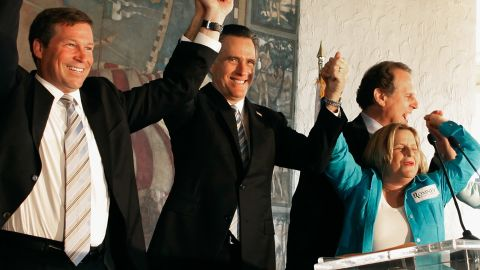 """Mitt Romney's anti-Castro plays into the regime's anti-imperialism discourse, says Sanchez. Romney (C) said if he became president that """"it is my expectation that Fidel Castro will finally be taken off this planet."""""""