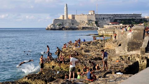Sanchez says while the official discourse points to the U.S. as the source of Cuba's greatest problems, many others blame the regime of Fidel (and now Raul) Castro for the island's ills.