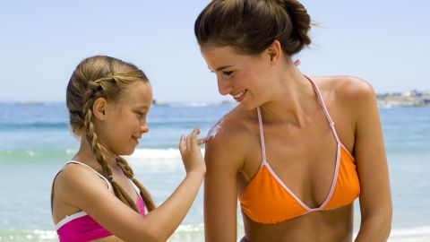 Sunburns can happen even on overcast days, so sun protection is always necessary with outdoor activity