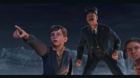 """Tthe computer-animated characters in 2004's """"The Polar Express"""" were called creepy by some critics."""