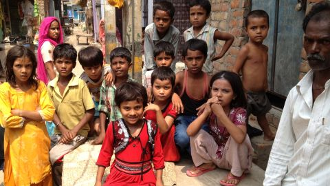 Contaminated water can cause serious health issues. Every one of these children has suffered from water-borne illnesses.