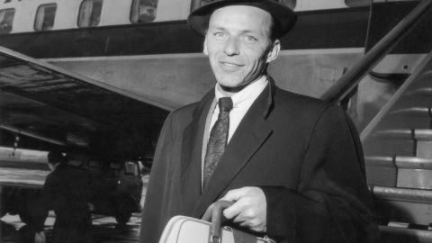 Initially left-leaning, Frank Sinatra backed Adlai Stevenson's presidential bid and later was an avid booster of John F. Kennedy. He switched to the GOP and backed Richard Nixon in the 1970s and later supported Ronald Reagan.