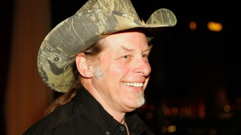 """Rock star Ted Nugent, a gun-rights activist, has endorsed Mitt Romney for president. He drew wide censure, and a visit from the Secret Service, after a speech from a concert stage in 2012, when he said, """"If Barack Obama becomes the president in November again, I will either be dead or in jail by this time next year."""""""