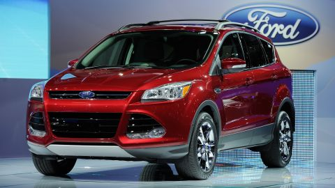 Only Ford Escapes built between March 8 and June 7 are affected, the company says.