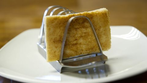 This piece of toast from Prince Charles' breakfast tray on the morning he married Lady Diana Spencer is up for auction.