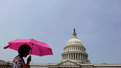 The Senate passed a Democratic plan to extend Bush era tax cuts and rejected a Republican proposal Wednesday.