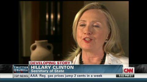 exp Labott Interviews Clinton_00002001