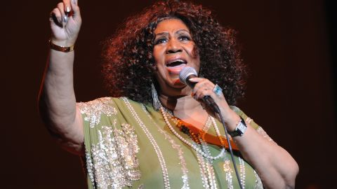 The Queen of Soul, Aretha Franklin, performs at the Fox Theatre on March 5 in Atlanta