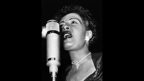 Holiday performs in Hamburg, Germany, in 1959. She died in New York on July 17, 1959, from pulmonary edema and heart failure caused by cirrhosis of the liver.