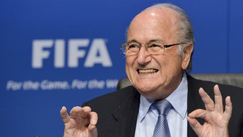 """Sepp Blatter vowed to steer FIFA away from """"troubled waters"""" when he was re-elected as president in June 2011"""