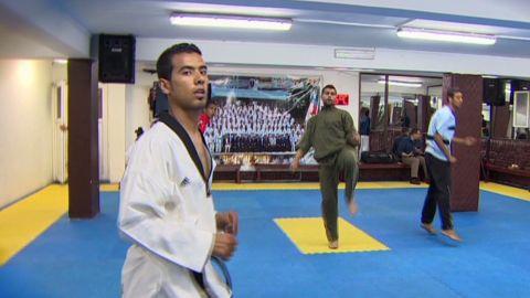 jamjoom olympics arab spring taekwondo_00000924