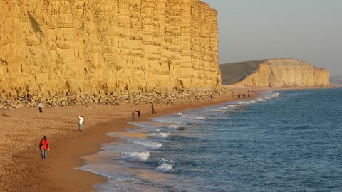 """Weymouth, which is hosting the sailing events at the London 2012 Olympics, is located on the """"Jurassic Coast"""" -- a rocky and dramatic 153 kilometer coastline in the south of England."""