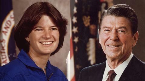 1983: Reagan honors Ride & astronauts