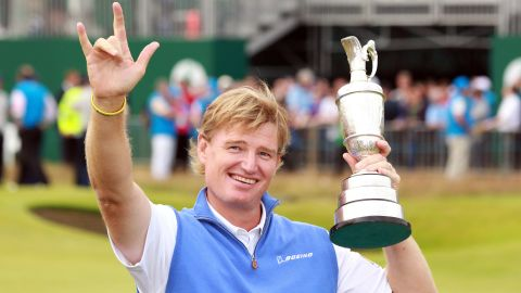 Ernie Els ended a 10-year wait for his fourth major title after winning the British Open for the second time following Adam Scott's final-round collapse at Royal Lytham and St. Annes.