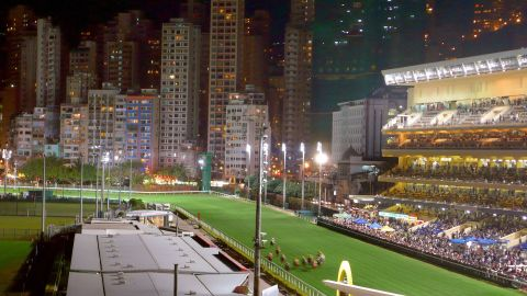 Happy Valley Racecourse was built in 1845 to provide horse racing for expat Britons living in Hong Kong. It's surrounded by giant apartments and skyscrapers -- giving visitors an unusually beautiful scenic view.