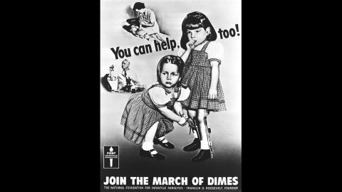 Pam and Patricia O'Neil (now Patricia O'Neil Dryer) were poster children for a campaign to stop polio in the 1950s.