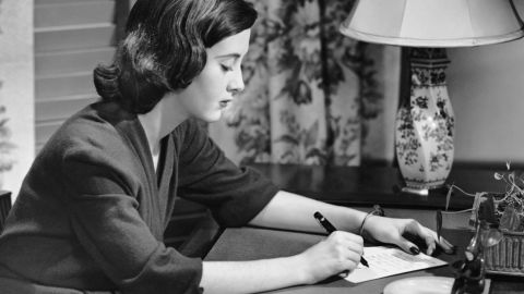 """Bob Greene says in an age of texting and emailing, The """"Dear"""" salutation increasingly seems formal and even too intimate."""