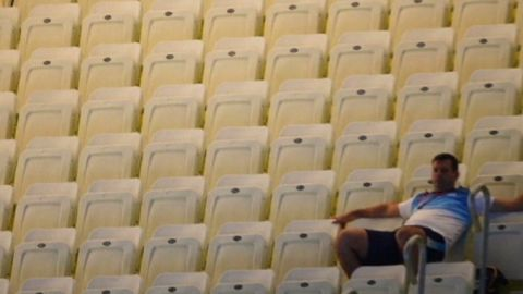 oly London empty venue seats Wyatt pkg_00003715
