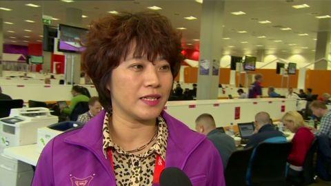 olympics china xinhua shiwen reaction _00002920