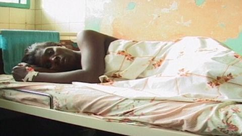 Efforts are underway in Uganda to contain an oKIBALE, UGANDAtbreak of the Ebola virus that has already killed 14 people. There is only a ten percent survival rate of some strains of the hemorrhagic fever.  WOMAN WITH EBOLA LYING IN KAGADI HOSPITAL BEDS