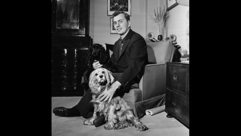 """Vidal at home in an undated picture. Vidal's 1948 work, """"The City and the Pillar,"""" featuring an openly gay character, brought him notoriety at a time when homosexuality was still considered immoral."""