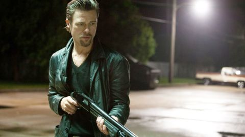 """Pitt played a mob enforcer in 2012's """"Killing Them Softly."""""""