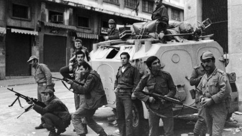 The civil war broadly pitted Palestinian and pro-Palestinian Muslim militias against Lebanon's Christian militias, devastating the country in the process.</p><p>An estimated 150,000 people were killed during the course of the conflict whilst thousands more fled the country.