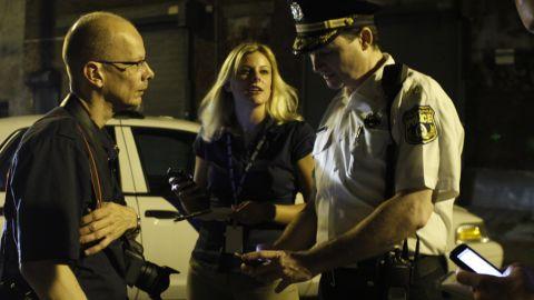 "In March, photojournalist Joe ""Kaz"" Kaczmarek, left, co-founded GunCrisis.org to fight Philadelphia gun violence."