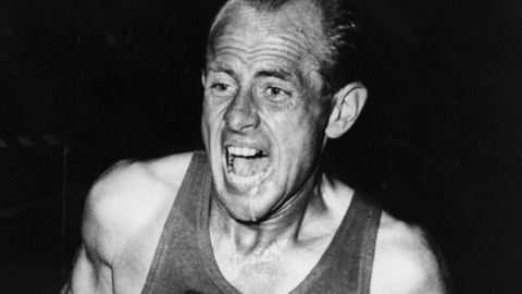 Emil Zatopek pushed himself to the limit in search of Olympic gold and world records.