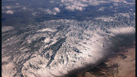"""""""Is this the Continental Divide? Or just some mountains?"""" wonders iReporter Steven Stiefel, who captured this contrasting landscape on a flight from California to Atlanta. """"You really get a sense of how huge our continent is and how diverse the landscape is from region to region."""""""