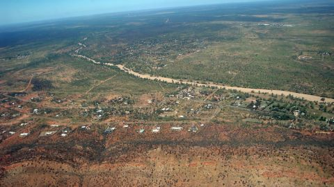 "Sobhana Venkatesan took this photo over Alice Springs, Australia. Venkatesan, from St. John's, Newfoundland, ""was embarking on an adventure in a faraway continent."""