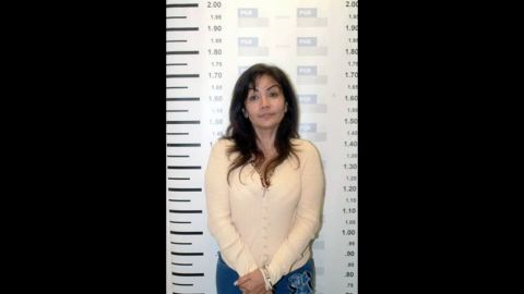"""Sandra Avila Beltran was dubbed """"Queen of the Pacific"""" because she allegedly controlled drug-smuggling routes from Colombia to Mexico along the Pacific Coast."""