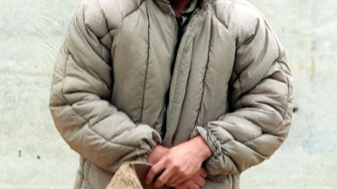 "Drug boss Joaquin ""El Chapo"" Guzman Loera is seen at a Mexican maximum security prison before he escaped in 2001."