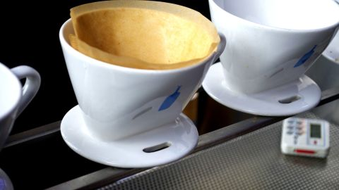 Patience pays off in the form of a truly special cup of coffee for one.